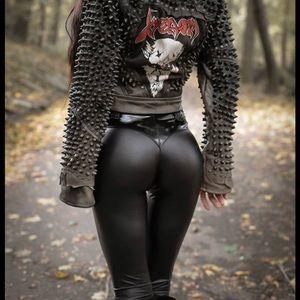 Pants - Toxic Vision Matte Rock & Roll Bullet Pants